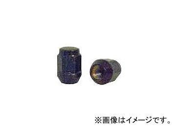 チップトップ 袋ナット ツバ付 ブラック 19H M12×1.5 31mm N-15 入数:1セット(100個) B01MR7H9HE