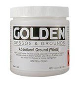 Absorbent Ground - Golden Artist Colors 16 oz Absorbent Ground (White)