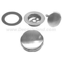 Westbrass D50T-53 Brass Trim Kit Only, Powder Coat Bone by Westbrass