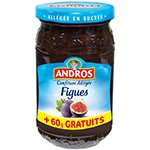 Andros Confiture Allegee Figues Bocal 410g