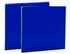 Cobalt Blue Glass Filter Lens 2x2 inch - 2 Pack