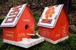 Cheap Clemson Birdhouse