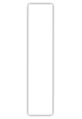 2 gro/ße Nummern f/ür M/ülltonnen selbstklebend Aufkleber wei/ße Nummer 1