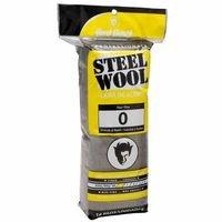 Steel Wool Fine #0, Sold As 1 Package, 16 Each Per Package