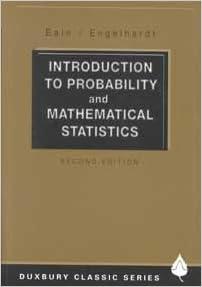 Introduction To Probability And Mathematical Statistics Lee J Bain 9780534380205 Amazon Com Books