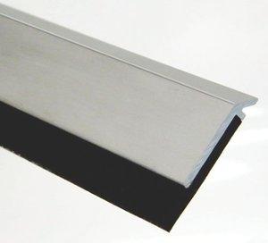 1/4''x1-1/4''Hx48''L Dark Bronze Alum Retainer Pemko 315 Black Neoprene Door Frame Weather Strip
