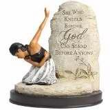 """She Who Kneels"" Figurine"