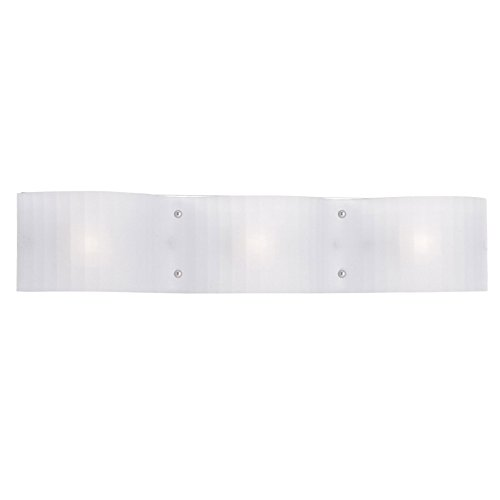 Livex Lighting 1433-05 Luna 3-Light Bath Light, Chrome - Luna Vanity 3 Lights