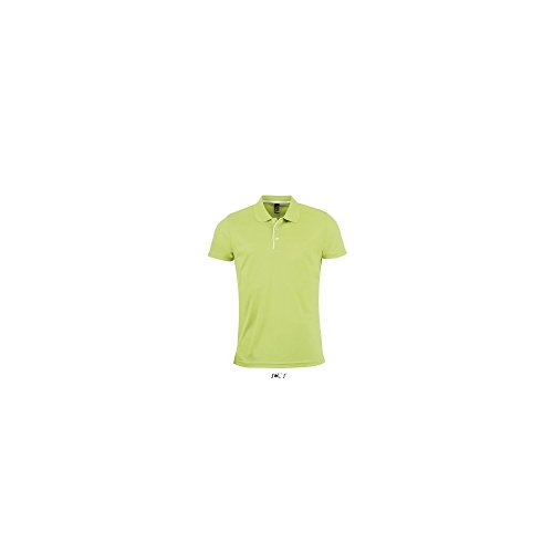 SOL´S Mens Sports Polo Shirt Performer, XL, Apple Green