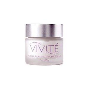 Vivite Night Renewal Facial Cream, 2 Ounce by Vivite