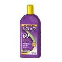 No-Ad 00224 SPF 60 Lotion écran solaire, protection générale, Violet Terminer