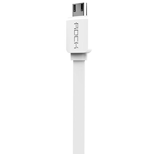 Rock 85309 Micro USB Cable   3.2 Feet  1 Meter   White