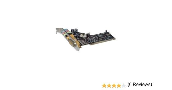 Nilox PCI-AUD6 - Tarjeta de sonido