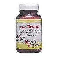 Premières thyroïdiennes 180 Capsules (1 Ea) par des sources naturelles