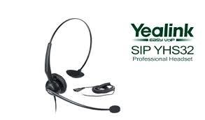 Yealink YHS32 Comfortable Headset, Ultra Noise Cancelling, Bundle of 4 (Noise Cancelling Headset Ultra)