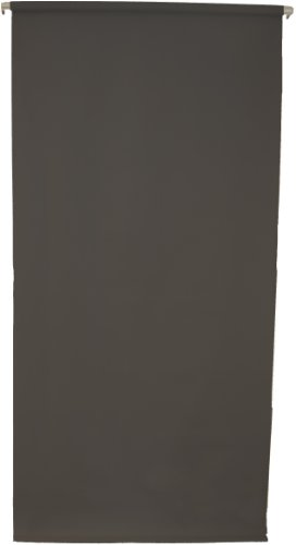 2.5'X5' Wall-Mounted Black Rollup Background System ID photos