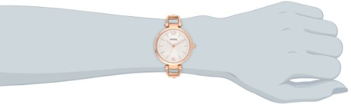a67bc0b1286 Fossil Women s ES3110 Georgia Three Hand Stainless Steel Watch ...