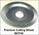 Curtis Model 2000 or 3000 Premium Key Cutting Wheel