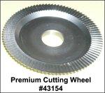 Curtis Model 2000 or 3000 Premium Key Cutting Wheel