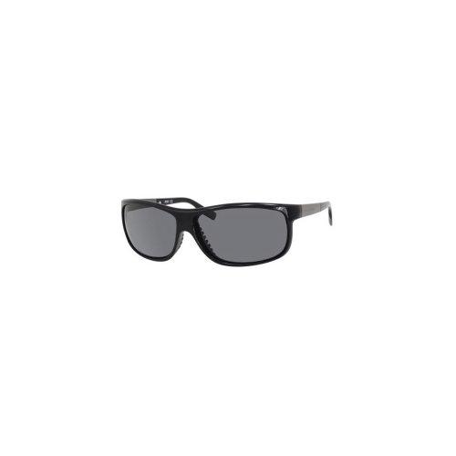 Boss Black Sports Wrap Sunglasses in Black Ruthenium BOSS 0522/S 606 64 64 Dark Grey