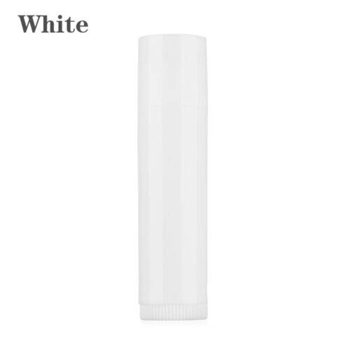 Makeup Tools Empty Travel bottle Lip Balm Lipstick Tube Cosmetic Containers (Color - white)]()