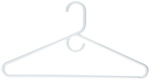 (Merrick C86311SHW WHT White Super Heavy Weight Tubular Hanger With Hook 3 Count )