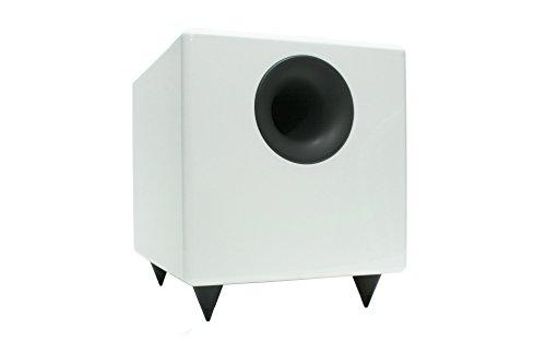 Audioengine S8 White 8-inch Powered Subwoofer by Audioengine