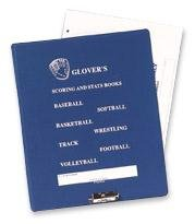 Glovers Scorebook Binder Glovers Scorebook