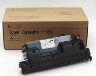 Ricoh Fax Toner Black Type 150 4500 Page Yield/264 Grm Cartridge