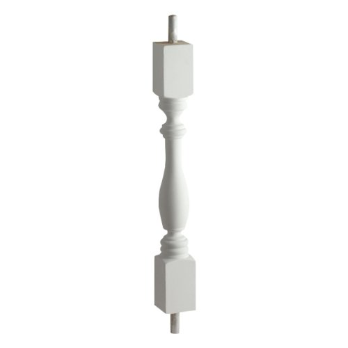"Fypon BAL3X20WF 2 3/4""W x 20 1/4""H Woodruff Baluster with..."