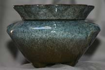 "Set of 3 3.5"" Granite Style Self Watering Ceramic planter for sale  Delivered anywhere in USA"