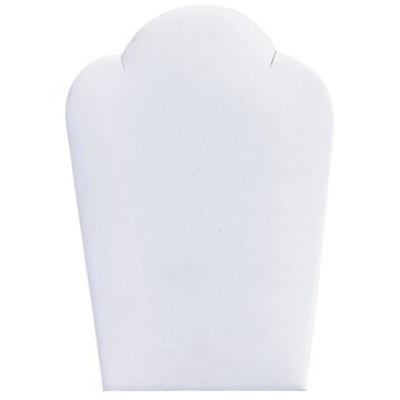 Displ Kit (Dlux Jewels White Necklace White Easel Display)