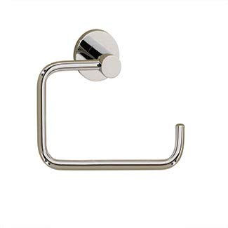 - Porto UNLACQUERED Brass Toilet ROLL Holder Without LID