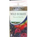 New Twining Wild Berries Havoured Black Tea 25 Sachets Net Weight 50 G.