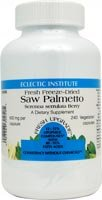 Eclectic Institute Saw Palmetto -- 600 mg - 240 Vegetarian Capsules - 3PC