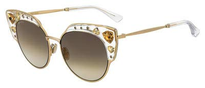 Jimmy Choo Women's Audrey/S Crystal/Gold One ()