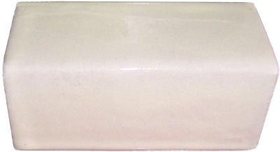 - Fine Crafts Imports 5 pcs Mexican White Talavera Clay V-Cap