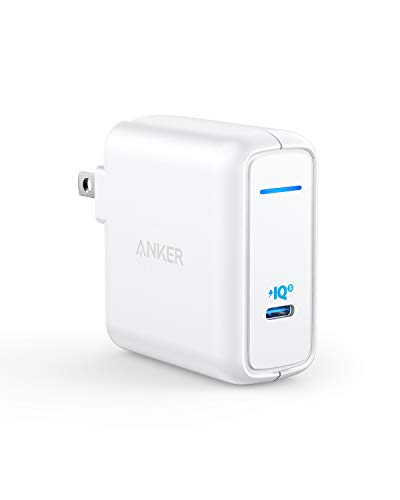 Anker 60W [PowerIQ 3.0 & GaN] Power Delivery USB C Charger, PowerPort Atom III 60W Ultra Compact Type C Charger for USB-C Laptops, MacBook Pro/Air, iPad Pro, iPhone XR/XS/Max/8, Galaxy, Pixel and More