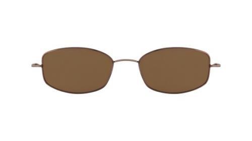 FLEXON Eyeglasses FLX 903MGC-CLIP 218 Coffee 52MM ()