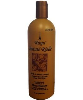 (Rinju Beaute Reelle Body & Hand Cream with Shea Butter 2 oz.)