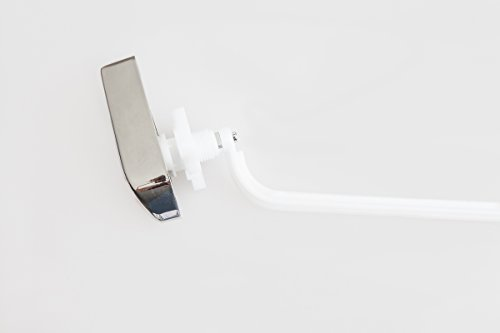 ELBA Toilet Tank Flush Lever, Universal fit Side Mount Trip Lever Chrome Plated, Toilet Repair Handle, fits Kohler Wellworth by Elba Product (Image #2)