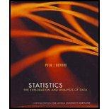 Title: STATISTICS:EXPLOR.+ANAL.OF DAT, Peck/Devore, 1111464928