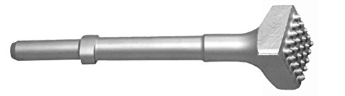 Champion Chisel, Carbide Tipped Bushing Tool with 25 teeth.680 Round Shank Oval Collar, Designed for .680 Round Chipping Hammer with Oval Retainer