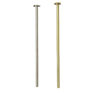 B&P Lamp 2 Prism Pins Chrome One Oz  100 Pcs