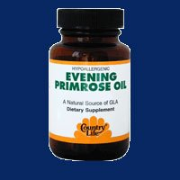 COUNTRY LIFE VITAMINS EVENING PROMROSE OIL, 60 SGEL by Country Life