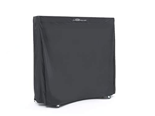Covermates - Upright Ping Pong Table Cover - 60W x 28D x 60H - Classic Collection - 2 YR Warranty - Year Around Protection - Black