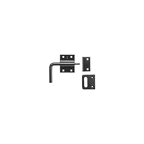 National Hardware N100-056 Black Slide Latch Bolt