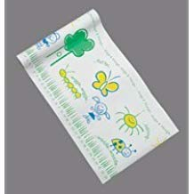 PT# 981418 Paper Exam Table Crepe Pediatric Bugs&Things 18x125 6Rl/Ca by, Tidi Products LLC