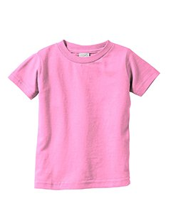 - PINK,18MOS Fine Jersey T-Shirt Rabbit Skins Infants 4.5 oz 3322
