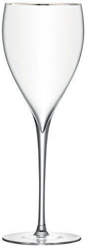 LSA Savoy Wine Glass 380ml Platinum - - Bar Lsa